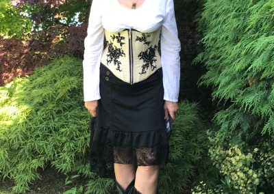 All ready for my first Steampunk themed wedding celebration